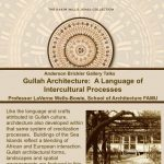 Gullah Architecture: A Language of Intercultural Processes