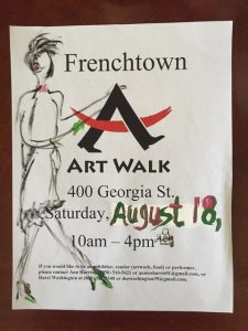 Frenchtown ArtWalk By ASH Gallery