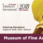 Opening Reception: The 33rd Tallahassee International 2018