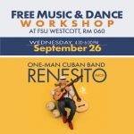 Free Cuban Music & Dance Workshop