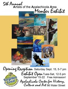 5th Annual Artists of the Apalachicola Area Member Exhibit