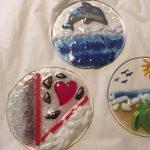 Fun with Fused glass - Suncatchers & Ramekins - Tallahassee