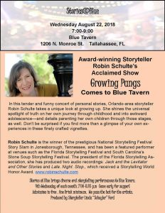 Stories@Blue Presents A Night of Storytelling with...