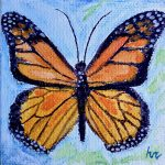 Senior Moments | Watercolor Butterfly