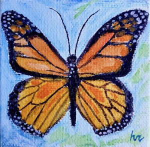 Senior Moments   Watercolor Butterfly
