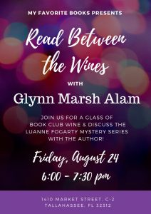 Read Between the Wines with Glynn Marsh Alam