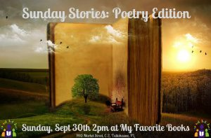 Sunday Storytime: Poetry Edition
