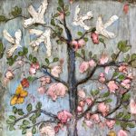 """""""Growing Wild"""" a profusion of wildflowers by Anne Hempel at Jefferson Arts Gallery"""