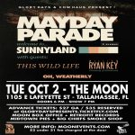 Mayday Parade w/ This Wild Life, William Ryan Key (ex-Yellowcard) & Oh, Weatherly