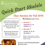Quick Start Ukulele Classes