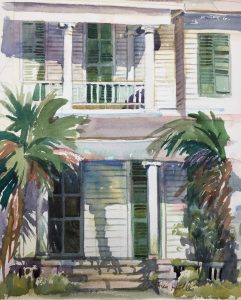 Plein Air Watercolor Workshop on the Forgotten Coa...