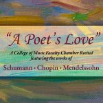 "Faculty Chamber Recital - ""A Poet's Love"""