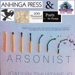 Anhinga Press with 100 Thousand Poets for Change