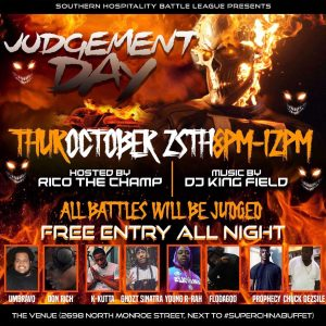 Southern Hospitality Battle League Presents: Judge...