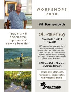Bill Farnsworth Oil Painting Workshop