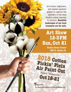 Cotton Pickin' Plein Air Paint Out