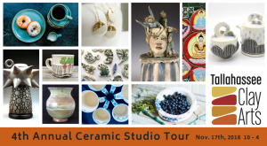 Tallahassee Clay Arts 4th Annual Ceramic Studio To...