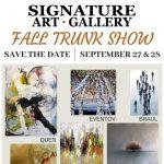 Annual Fall Trunk Show