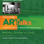 "FAMU ARTalks: ""The Grid Comes Full Circle: Artist As Teacher, Teacher As Artist"""