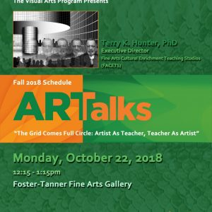 "FAMU ARTalks: ""The Grid Comes Full Circle: Artis..."