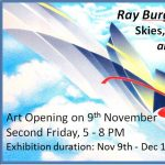 Ray Burggraf: BLUE SKIES, New Works and Revisions, Art Opening