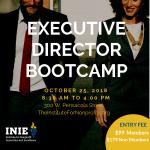 Executive Director Bootcamp