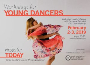 Suzanne Farrell Workshop for Young Dancers