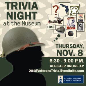 Trivia Night: Veterans' Day Edition