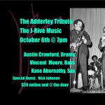B Sharps Presents a J-Rive Music Quintet Tribute to the Adderley Brothers