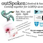 outSpoken: Coming Together for LGBTQ+ and Social Justice