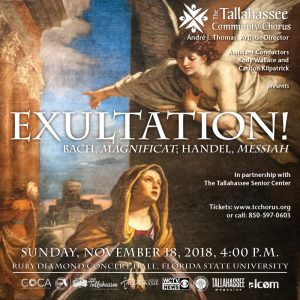 The Tallahassee Community Chorus presents Exultati...