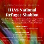 HIAS National Refugee Shabbat
