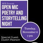 Open Mic Poetry & Storytelling Night