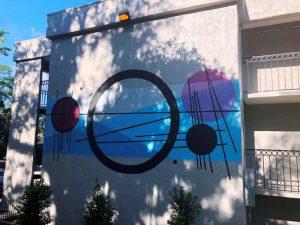 401 West Park Avenue Mural