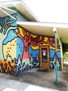 Mural at The Bark