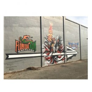 Mural at Airport and Eppes Drive