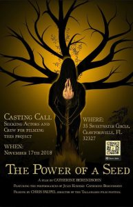 "Call for Actors and Film Crew: ""The Power of a See..."