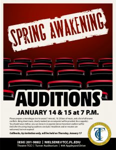 Auditions for Spring Awakening