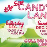 Life-Size Candy Land at the LeRoy Collins Leon County Public Library