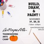 Holiday Art Camp at LeMoyne Arts