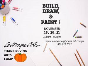 Holiday Art Camp at LeMoyne Arts