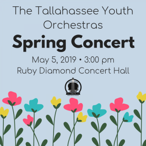 The Tallahassee Youth Orchestras Spring Concert