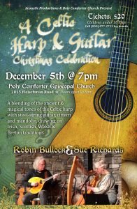 A Celtic Harp & Guitar Christmas Celebration with Robin Bullock & Sue Richards