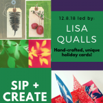 Sip + Create: Coffee & Cards with Lisa Qualls