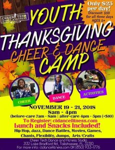 Thanksgiving Cheer & Dance Camp
