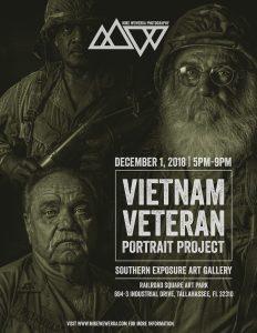 Vietnam Veteran Portrait Photography Project