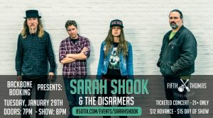 Sarah Shook & The Disarmers w/ Once Great Estate