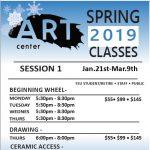 Oglesby Art Center Spring 2019 Art Classes