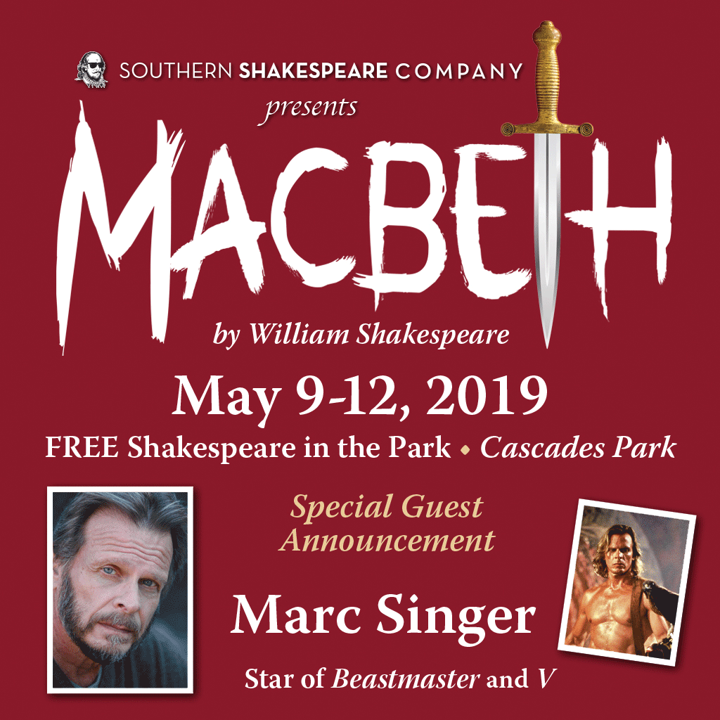 Auditions for Macbeth directed by James Bond - Tallahassee Arts Guide