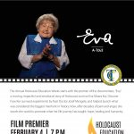 Holocaust Education Week: Eva